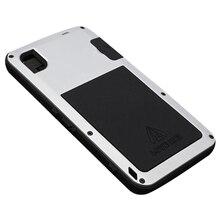 Metal Shock/Waterproof Gorilla Glass Case For Sony Xperia Z3 silver