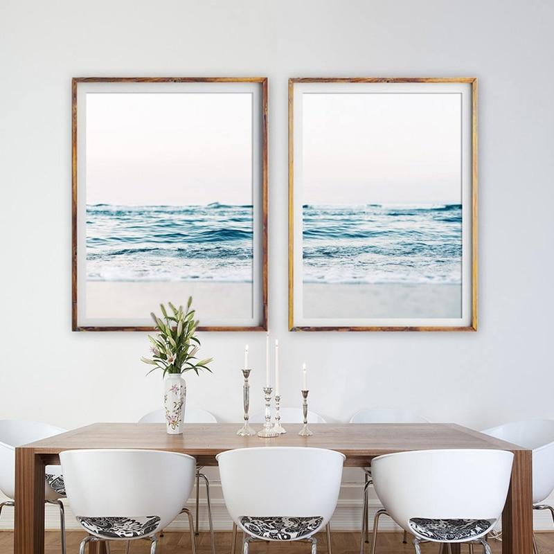 Coastal Decor Beach Photography Canvas