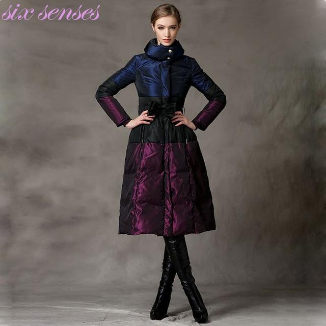3XL Jaquetas de Moda Feminina Com Cinto Senhoras Casacos de Inverno Quente Longo Pato Para Baixo Parka Casaco Grosso Para Baixo, WY1969