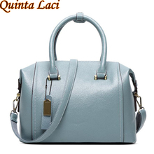 Quinta Laci women genuine leather bag Women s messenger bags tote handbags women famous brands high