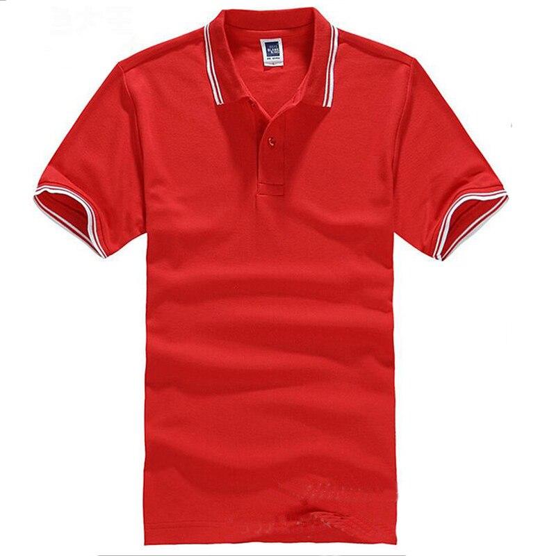 Markenkleidung Polo-Shirt Solide Casual Polo Homme Für Männer - Herrenbekleidung - Foto 4