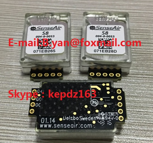 FREE SHIPPING 1PCS New And Original SenseAir S8 004-0-0053 S8-0053 Infrared CO2 Carbon Dioxide Sensor S80053  S8 0053