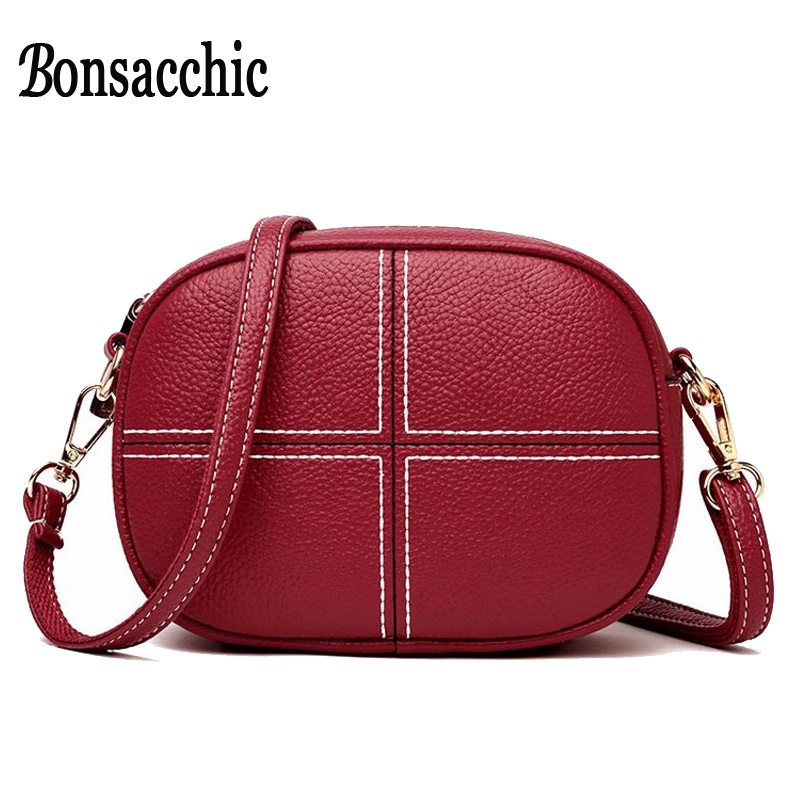 a04671d59bb Bonsacchic Leather Shell Bags Women Small Handbags Luxury Handbags Women  Bags Designer Women s Red Handbag Ladies Hand Bags