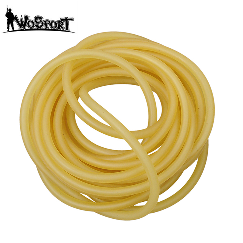 Natural Latex Rubber Tubing 3M For Slingshot Catapult Surgical Tube Elastic Parts Outdoor Hunting Shooting Bow Accessories