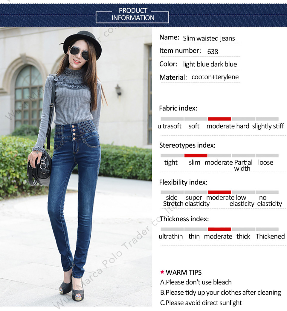19 Jeans Womens High Waist Elastic Skinny Denim Long Pencil Pants Plus Size 40 Woman Jeans Camisa Feminina Lady Fat Trousers 13