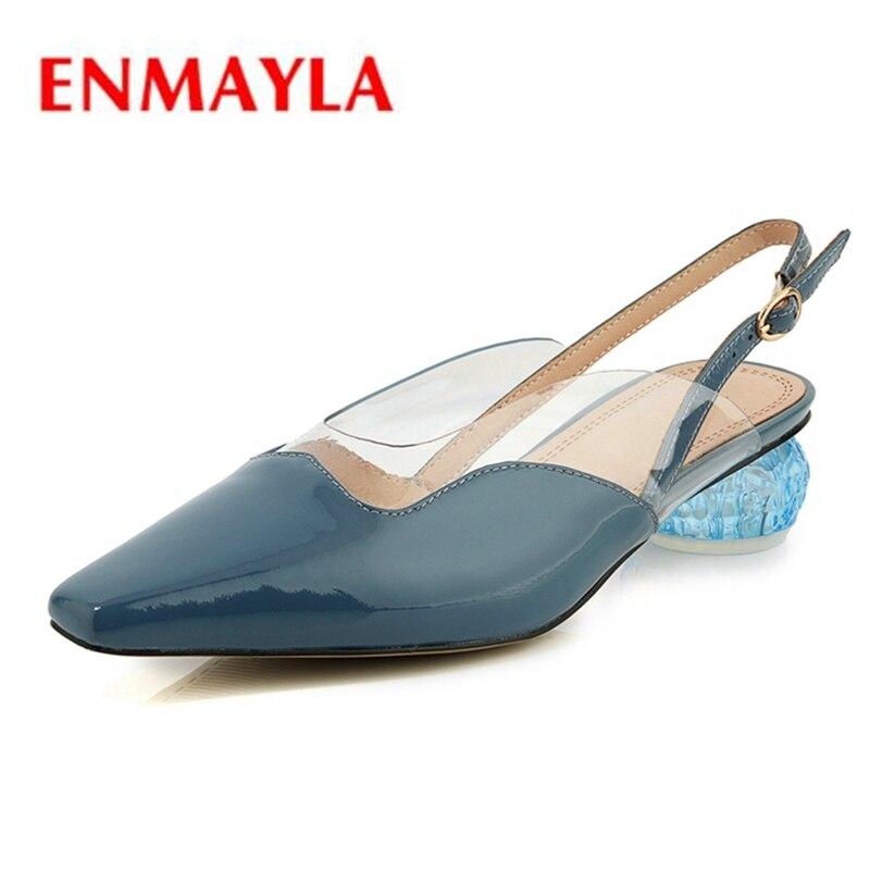 Zyl2404 red Zapatos blue Sandalias De Black Tamaño Correa Tacos Mujer  Hebilla Casuales Tacón 34 39 Alto Enmayla qZwapOSHW 705721f547c8