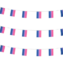 xvggdg  Rainbow string Flags 38pcs/set Banner Bisexual Pride LGBT Flag Lesbian Gay Parades