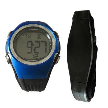 Rastreador de ejercicios Monitor del ritmo cardíaco de deportes Polar relojes de pulso Sensor de Metro ciclismo correa para el pecho de las mujeres de los hombres reloj deportivo