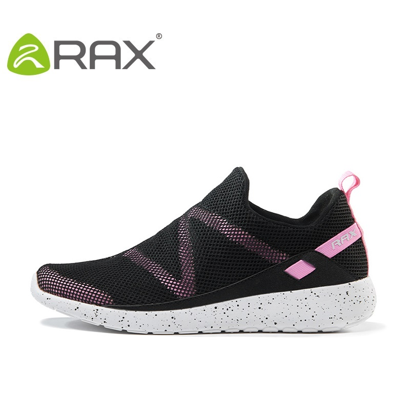 Rax Womens Sports Shoes Running 2017 New Summer Outdoor Shoes Female Lovers Mesh Sneakers For Spring And Summer B2820W