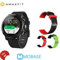 Amazfit Stratos Смарт часы 2 gps 5ATM воды 1,34 ''2.5D Экран gps спортивные часы компании Firstbeat плавание Smartwatch английская версия