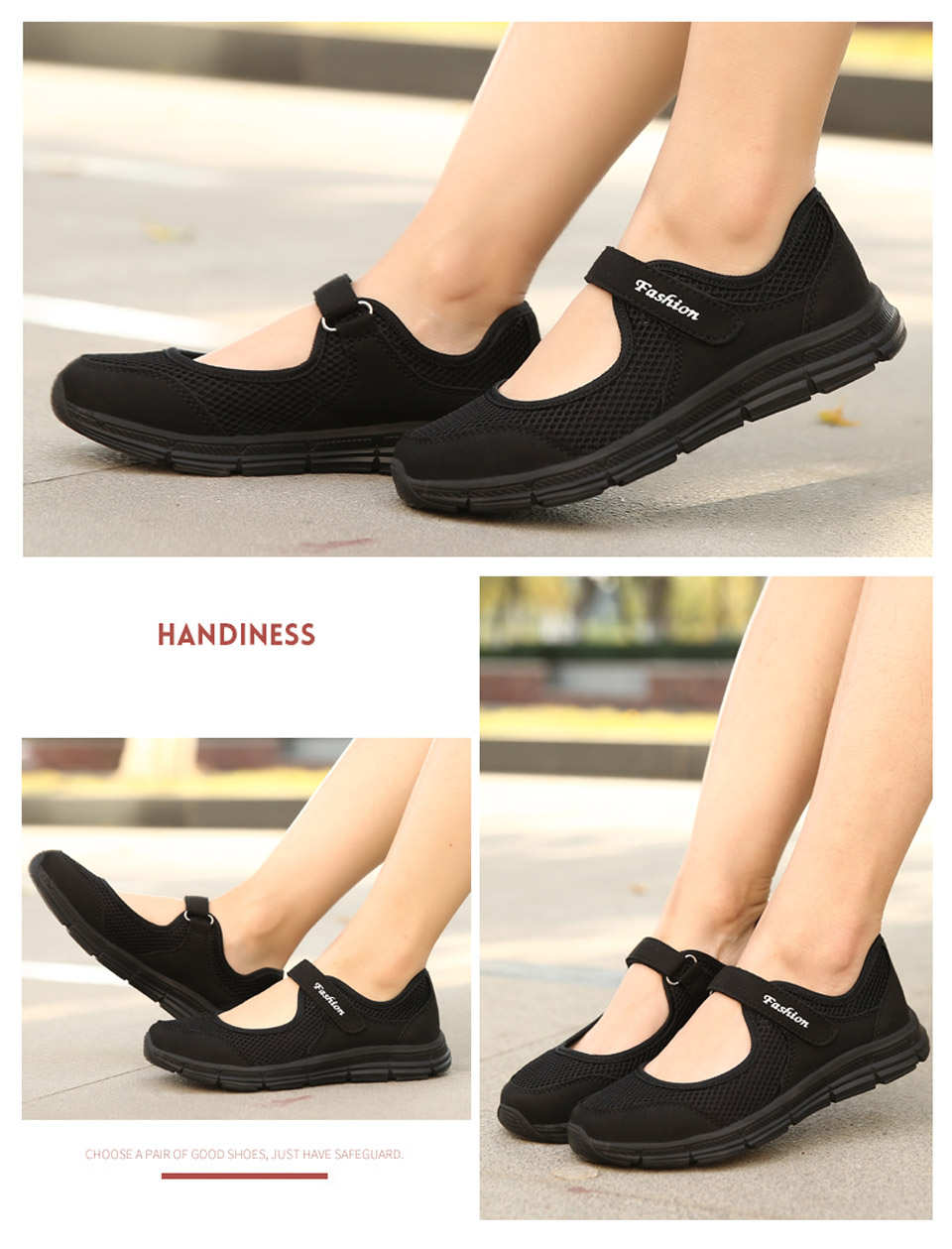 EOFK Casual Flat Comfortable Breathable Shoes for Women