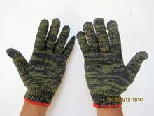 Free delivery 6pairs economical aggressive Cotton Yarn flower security defending gloves with wear-resistant/ slip-resistant