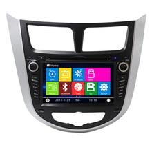 Hyundai Verna DVD GPS Navigation with USB Bluetooth Radio support rear camera 2Din In-Dash Car DVD