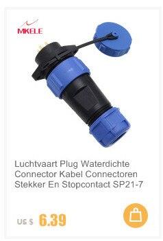 1Set SP21 IP68 3 pins circulaire aviation étanche Plug Câble Butt Connecteurs