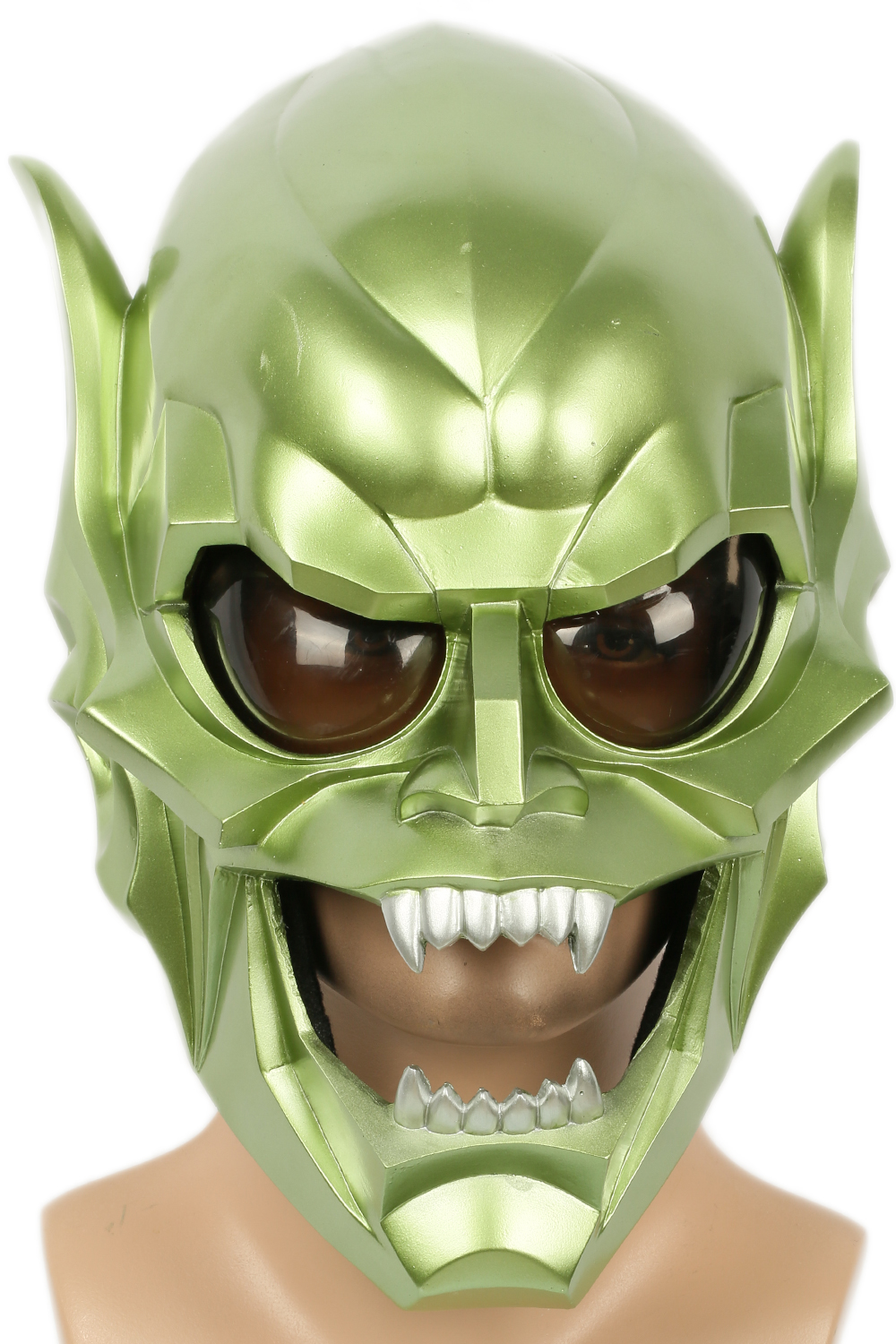 XCOSER Goblin Mask Costume Props for Adult Halloween Party Cosplay Accessories