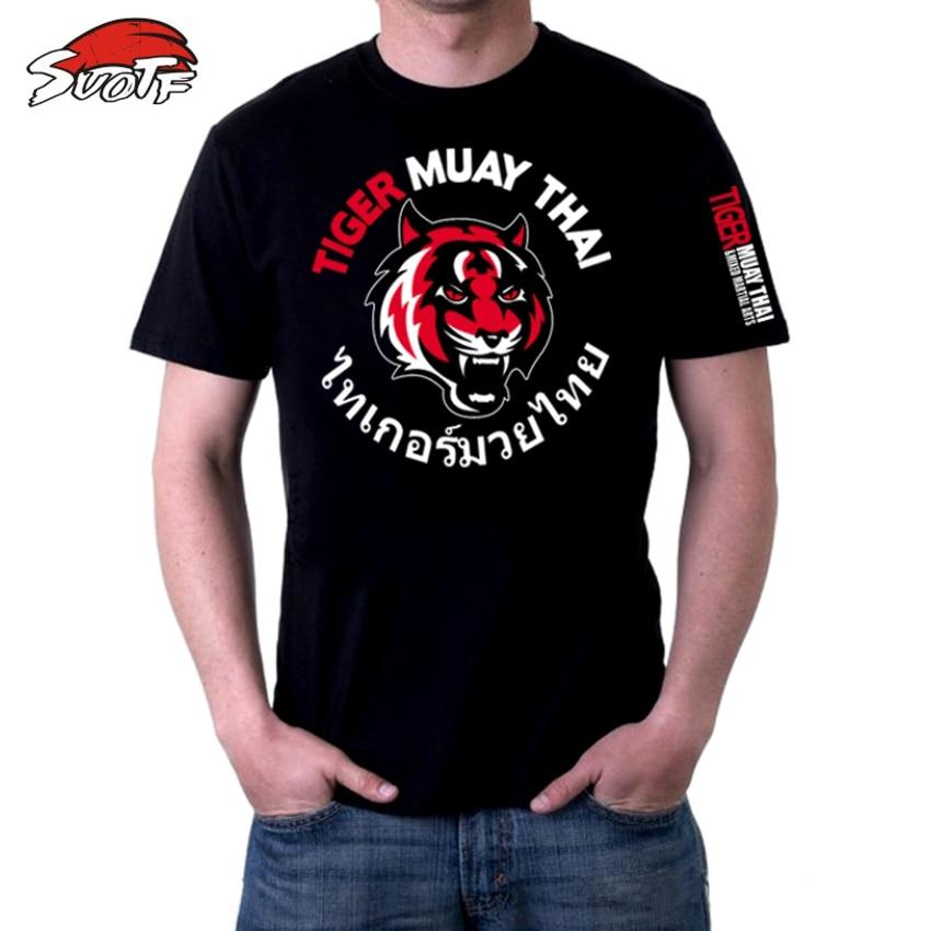 SUOTF Nouvelle Annonce Tiger Muay Thai boxe sweat mma hommes muay thai shorts de boxe muay thai vêtements pour la boxe jaco