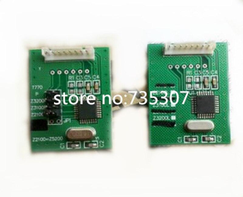 new chip decoder Board 1 set 2pcs for Z2100 Z5200 Z5400 Z3100 Z3200 chip resetter decryption