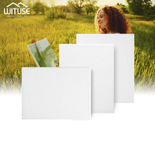 White Blank Square Artist Canvas Art Painting Board Framed For Canvas Oil Painting,Wooden Board Frame For Primed Acrylic Paint 10m linen blend primed blank canvas paper for painting coarse grained oil painting canvasoil painting canvas paper