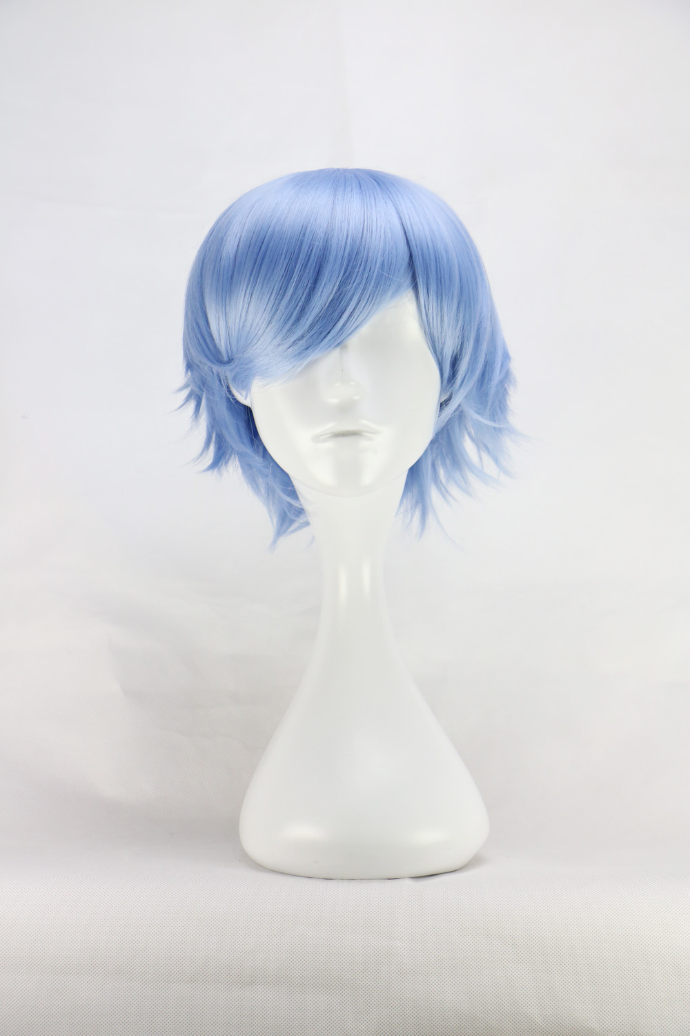 White Anime Boy Wig 87