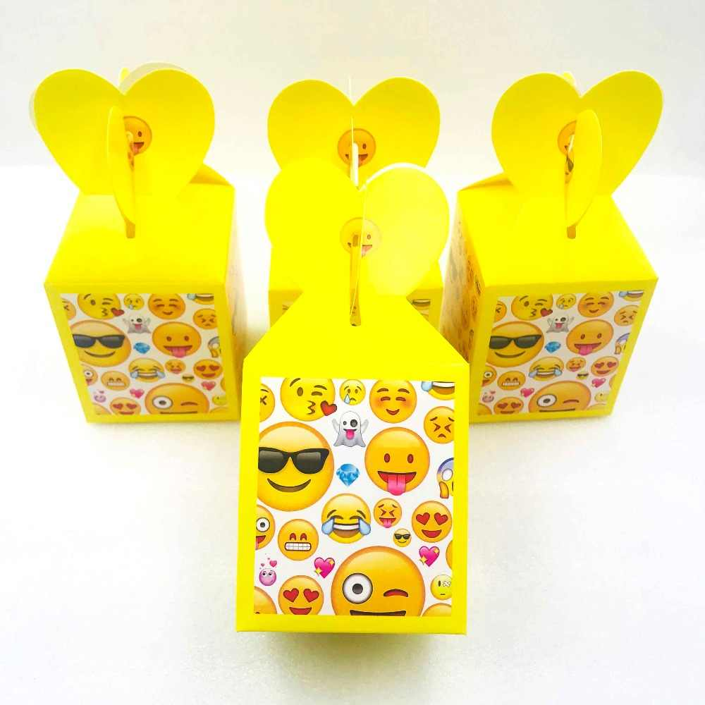 Detail Feedback Questions About 6pcs Emoji Girl Birthday Party