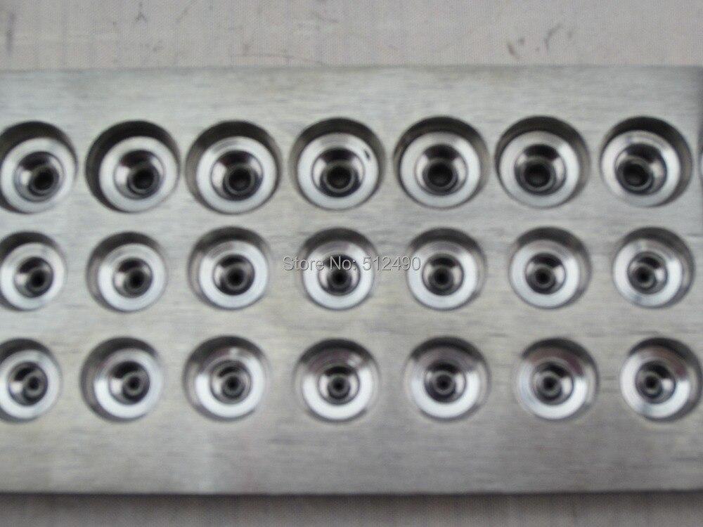 Ensemble de matrices de finesse de carbure de tungstène, 0.26-2.8mm, plaque de traction en carbure de tungstène, numéro de 51 trous, jeu de matrices de finesse, outil en or