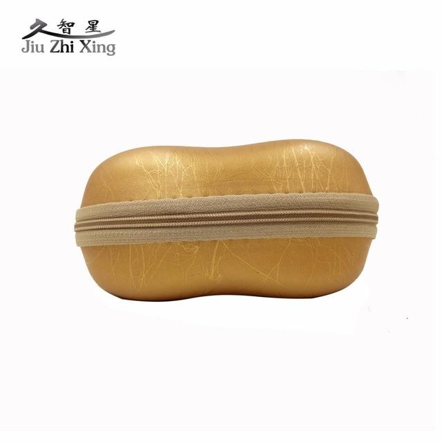 defe502ce6 JIU Zhi Xing compresión de gafas caso para Gafas Eyewear caja cubierta  cremallera gancho bolsa universal