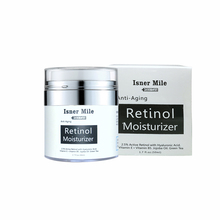 ISNER MILE Retinol Moisturizing Cream Vitamin C Whitening Anti-Aging Anti-Wrinkle Hyaluronic Acid 2.5% Moisturizer 50ml