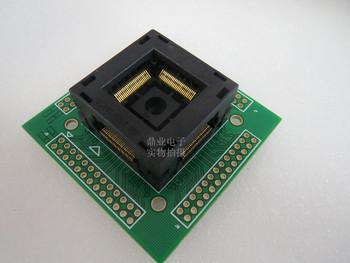 Opentop 100 oryginalne i nowe IC201-1004-008 QFP100 TQFP100 0 5mm IC spalania siedzenia Adapter testowania miejsce badania testowania gniazd ławki tanie i dobre opinie Tester kabli JINYUSHI