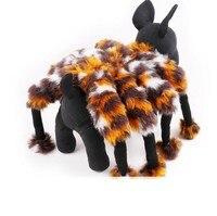 Petalk ניו ליל כל הקדושים המפלגה עכביש מצחיק תחפושת איכות לחיות מחמד כלב חליפת בגדי S M L