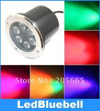 6 Вт Светодиодные Лампы Водонепроницаемый Лампы Открытый подземный Сад Свет 12 В