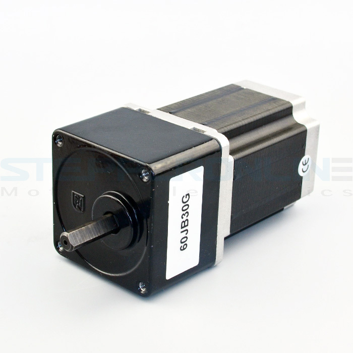 Nema 23 Geared Stepper Motor Gear ratio 30:1 Spur Gear stepper motor 2.8A 60*60*118mm for CNC router robot cnc