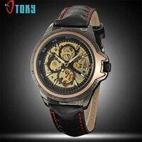 WINNER Men S Wrist Watch Top Brand Luxury Men Military Sport Clock Automatic Mechanical Steel Skeleton