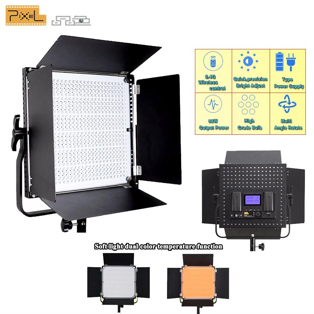 Pixel K80 photographie professionnelle 2.4G Transmission sans fil lampe à LED Photo extérieure lumière de mariage Film photographie vidéo lumière-in Éclairage photographique from Electronique    1