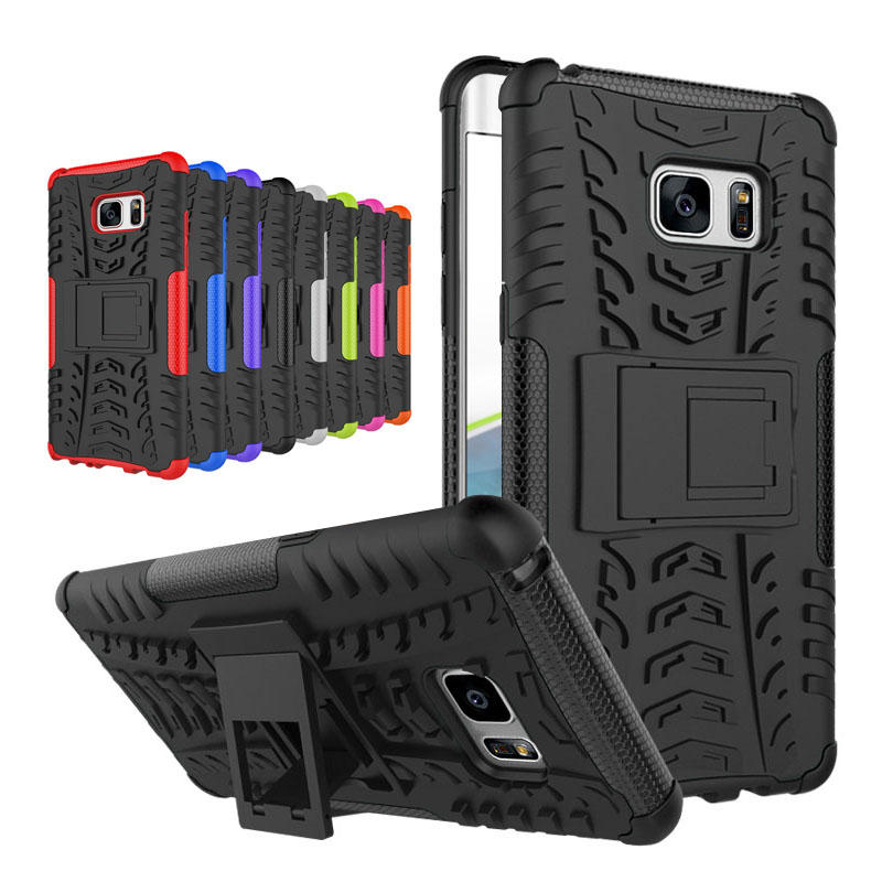 Luxury Phone Cover For Case Samsung Galaxy Note 7 Shockproof TPU + PC Strong Hybrid Phone Cases Cover For Galaxy Note 7 Note7