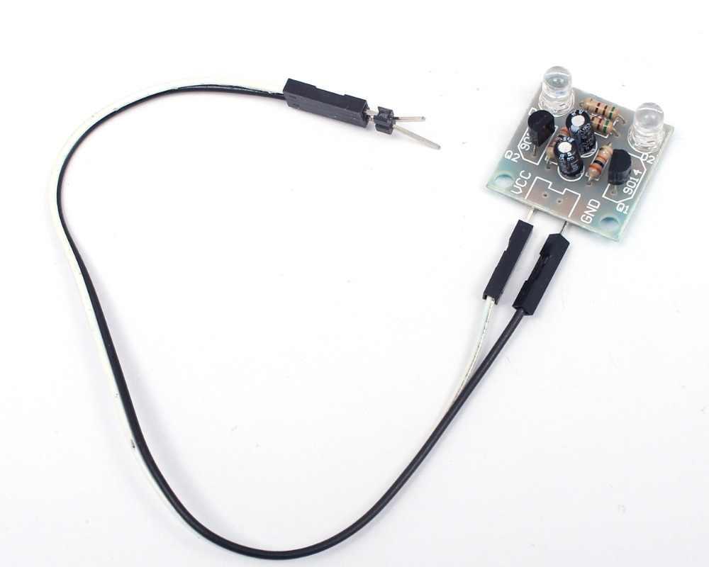 2Pcs Kit 5Mm Led Simple Flash Light Simple Flash Circuit Production Suite cs