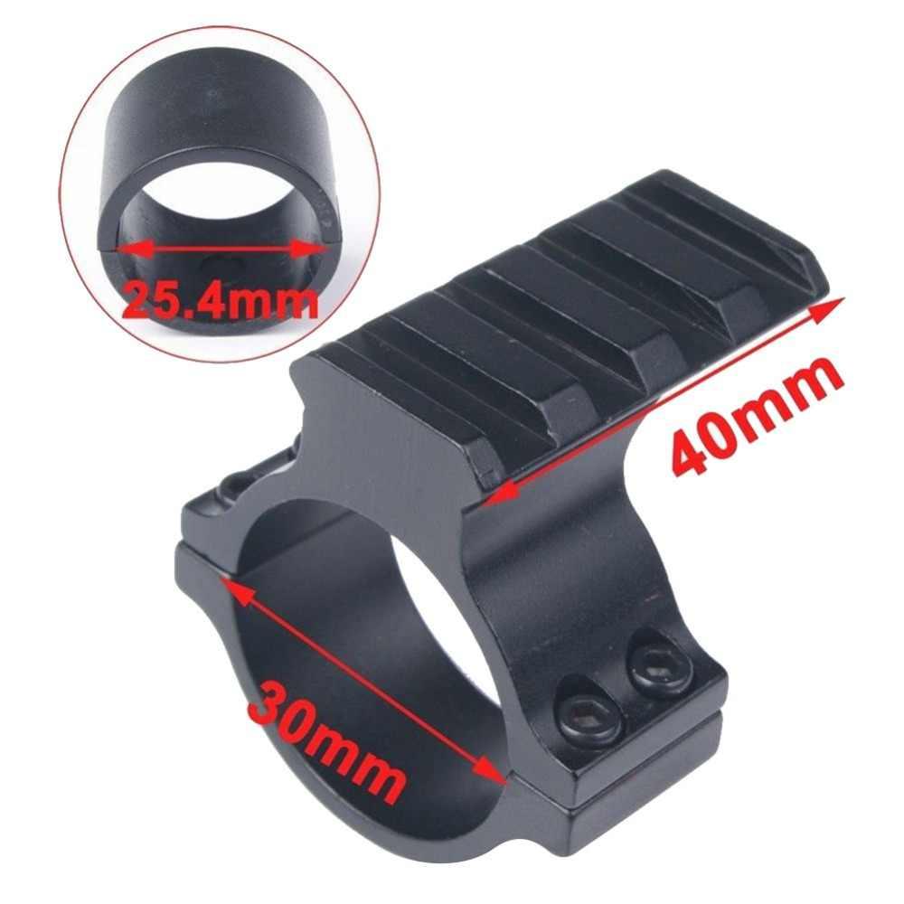 30mm/25.4mm הר טבעת נמוך היקף לפיד לייזר Sight להשתלב Picatinny רכבת מתאם פרופיל רובה אורג היקף ציד הר