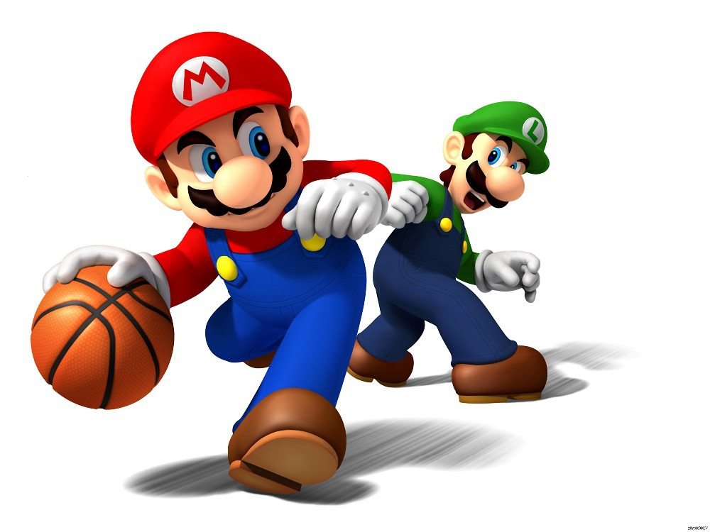 super mario vs luigi basketball game wall print poster 24x32wbp06057 in wall stickers from home garden on aliexpresscom alibaba group - Super Mario Pictures To Print