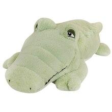 Hot Big Size Crocodile Lying Section Plush Pillow Mat Plush Crocodile Soft Stuffed Animal Toy Cartoon Plush Dolls Kids Girl Gift