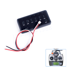 New X-ROCK 6CH Flight Mode Switcher For APM Pix Pixhawk Pixhack Support Futaba Frsky Saitek