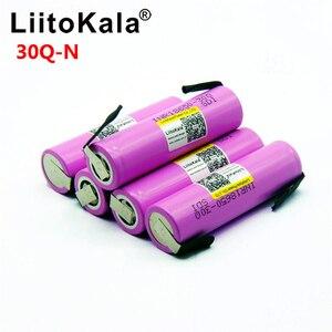 Image 3 - Litokala オリジナル 18650 バッテリー INR18650 30Q 20A 3000mah 放電リチウムイオン充電式 18650 バッテリー