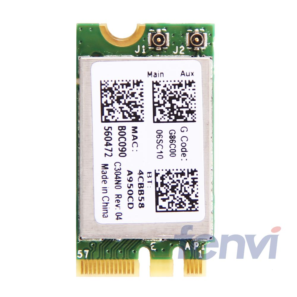 New 150Mbps Wlan Broadcom BCM943142Y Wireless N M.2 NGFF WiFi Bluetooth 4.0 802.11b/g/n 150M Wireless Network Mini Card-in Network Cards from Computer & Office