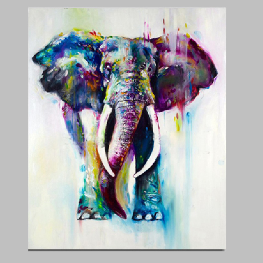 popular elephants paintings buy cheap elephants paintings lots from china elephants paintings. Black Bedroom Furniture Sets. Home Design Ideas