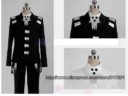 Soul Eater Death the Kid Cosplay Costume anime cosplay costume-in Anime Costumes from Novelty u0026 Special Use on Aliexpress.com | Alibaba Group & Soul Eater Death the Kid Cosplay Costume anime cosplay costume-in ...