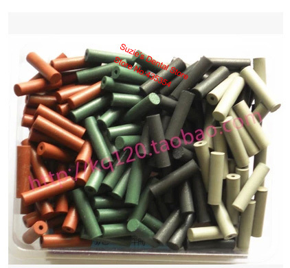 100pcs Assorted Dental Lab Polishing Stick Silicone Rubber Polishers 6*23mm