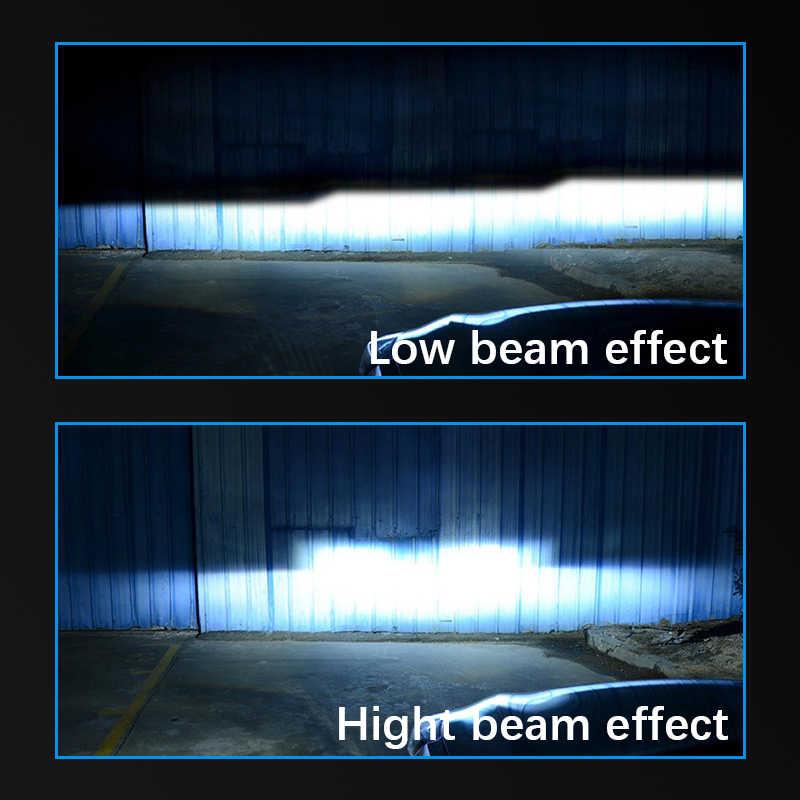 Car headlights H4 led Mini H7 lamp H8 LED H1 H3 H11 fog light HB3 9005 HB4 9006 12V 60W 6000LM