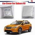 Gray Car Anti UV Rain Snow Resistant Car Cover Sun Shade Dustproof For Subaru XV Free Shipping !