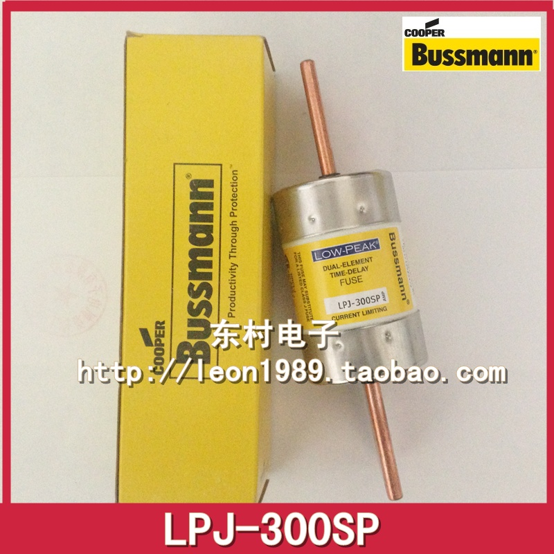 [SA]United States BUSSMANN delay fuse LOW-PEAK fuse LPJ-300SP 300A 600V fuse 250vac gdl 6 10a time delay pk5