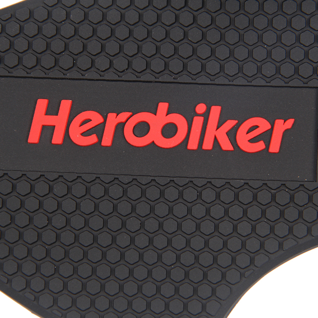 HEROBIKER Wear-resisting Rubber Motorcycle Gear Shift Pad Riding Shoes Scuff Mark Protector Motorbike Boots Cover Shifter Guards
