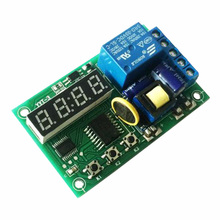 220V Real Time Relay / Switch Timing Module High Precision Clock Board Control