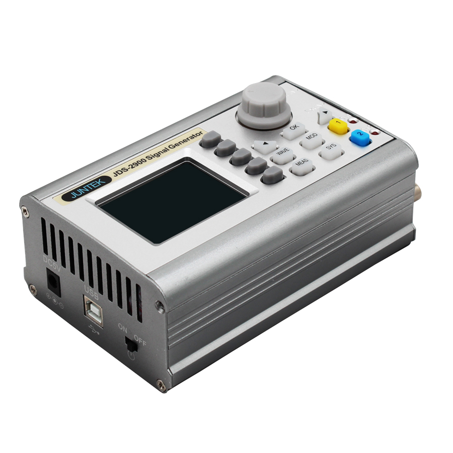 JDS2900-60M Arbitrary Waveform Pulse Signal Generator Digital Dual-channel DDS Function Signal Generator  60MHZJDS2900-60M Arbitrary Waveform Pulse Signal Generator Digital Dual-channel DDS Function Signal Generator  60MHZ